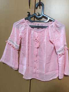 Sabrina (new without tag) blouse atasan