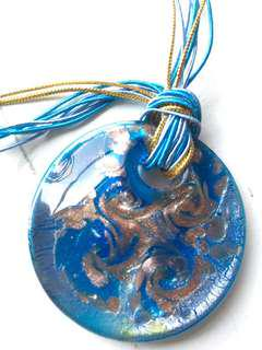 Murano glass pendant from Venice Italy #50under