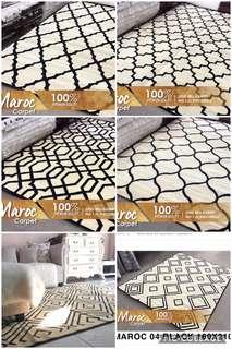 Carpet maroc monochrom