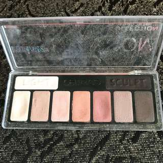 Eyeshadow catrice the nude matt collection