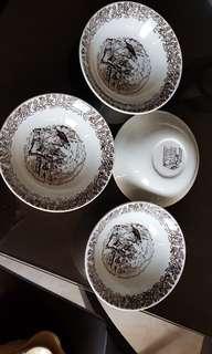 Vintage OLIVER TWIST soup/salad bowls
