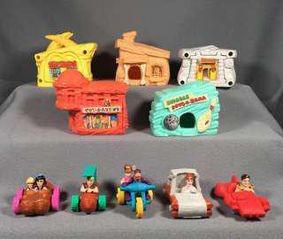 McDonald's Toy (The Flintstones) full set
