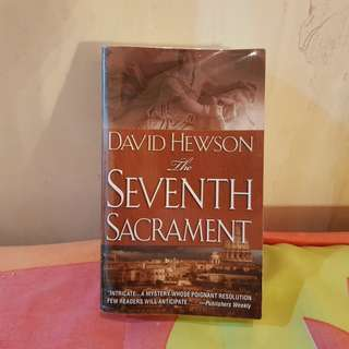 The Seventh Sacrament by David Hewson RUSH SALE IN EXCELLENT CONDITION