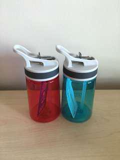 Traveler's Water Bottle Set