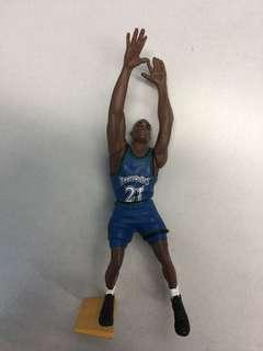 NBA Timberwolves Garnett 21 🐺狼王 加尼特