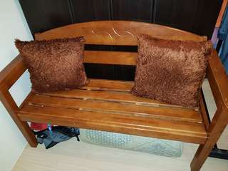 Wooden bench/sofa