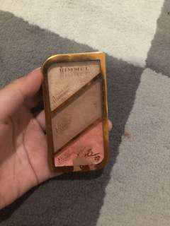 Rimmel Kate Moss collab 3in1 face palette