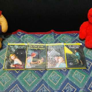 FREE SHIPPING! Nancy Drew 4 Bundle Set