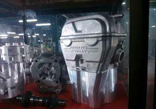 HONDA CBR150R/SONIC150R complete cylinder head(DOCH) with block 62mm open for sale