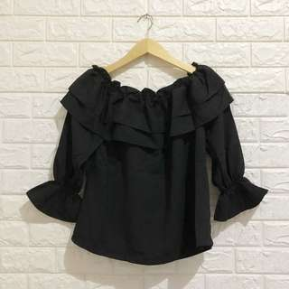 NEGO TIPIS Patricia Blouse in Black