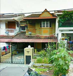 Double storey freehold house in Cheras