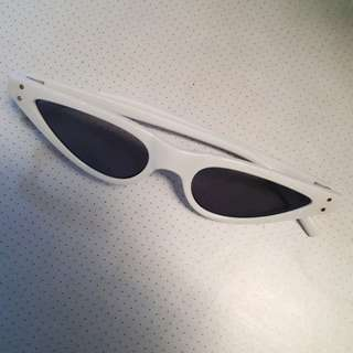 e727ab8be6 Authentic George Keburia sunglasses in solid white