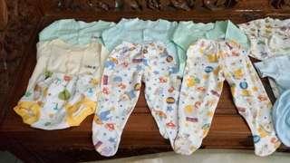 Take All Baju Celana Baby (18 Pcs)