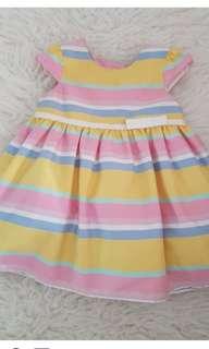 Mothercare pastel dress