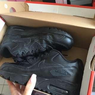Nike black air max 90s