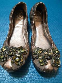 Authentic Original Tory Burch Ballerina Doll Shoes
