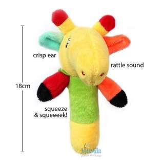 Rattle stick giraffe