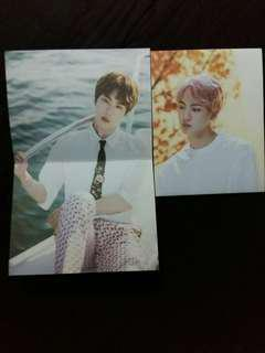 BTS Mini Poster with Cover