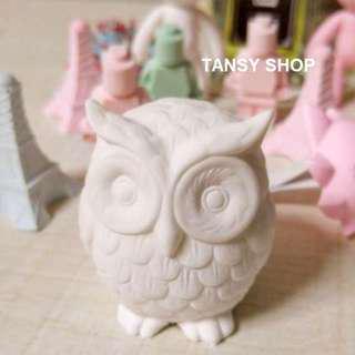 【TANSY SHOP】翻糖模具滿三件打八折! 動物 3D貓頭鷹 干佩斯 硅膠 矽膠模具 翻糖DIY烘焙工具