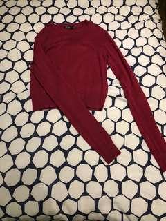 Bershka - cropped knit (BNWT)