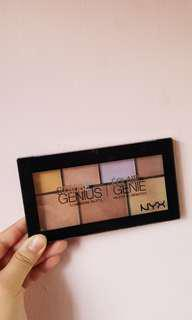 NYX Strobe of Genius Highlighting Palette #jan50