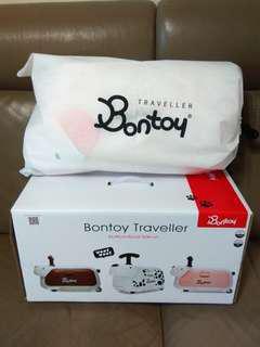Bontoy 兒童騎坐行李箱 - 粉紅祖兒