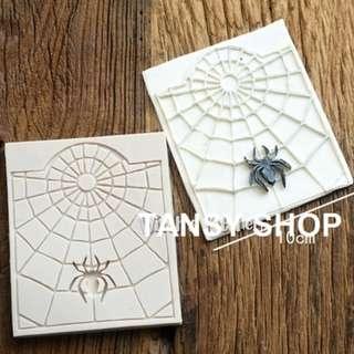 【TANSY SHOP】翻糖模具滿三件打八折! 動物 蜘蛛 蜘蛛網 萬聖節 干佩斯 硅膠 矽膠模具 翻糖DIY烘焙工具