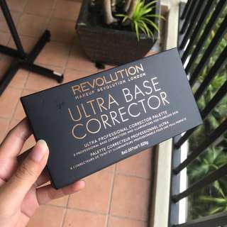 Authentic Makeup Revolution Ultra Base Colour Corrector Palette