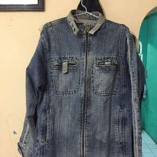 Jacket jeans denim import mantapp