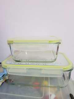 Komax Glass Containers
