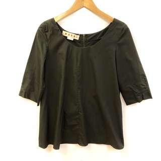 Marni dark green top size 38
