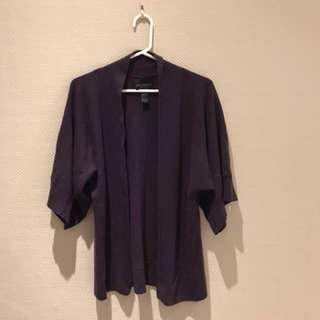 Cynthia rowley cashmere kimono