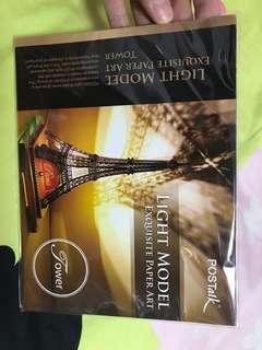 Eiffel Tower light model
