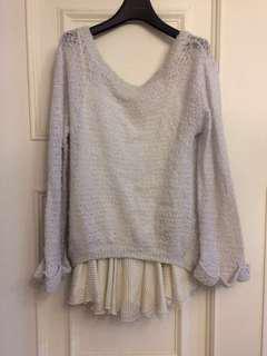🚚 Snidel寬鬆感針織連身裙