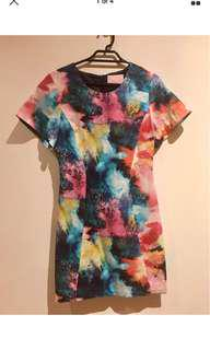 AKIN by GINGER & SMART Electric Cloud Dress - Size 6