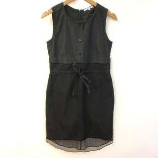 斯文裙 Carven black dress size 34