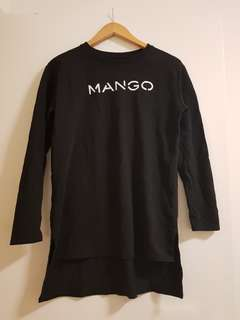 MANGO Long Sleeve Top