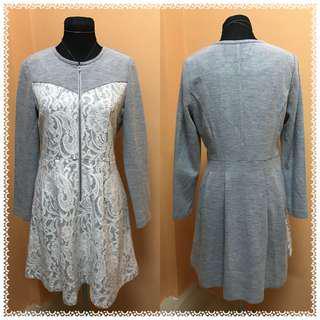 Gray Office / Formal Dress