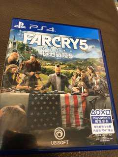 PS4 極地戰嚎 5 Far Cry 5遊戲光碟