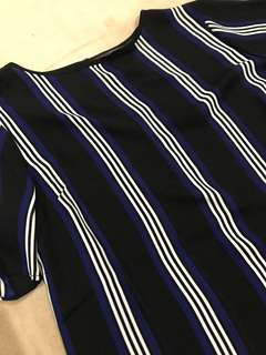 Striped glassons tee - NEW