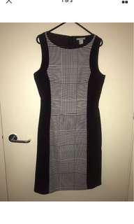 H&M Sleeveless Shift Dress - Size 38