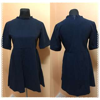 Navy blue office/ Casual/ Formal Dress