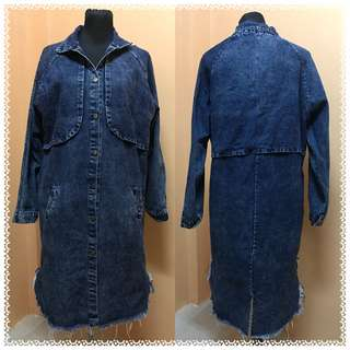 Long Denim Jacket / Dress