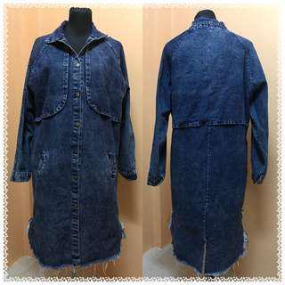 Long Denim Jacket / Dress