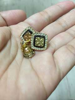 tory burch earrings 16k gold plated