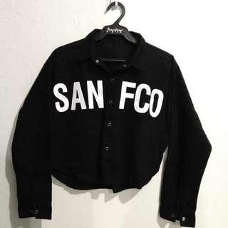SAN FCO denim jacket