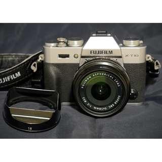 🚚 selling Fujifilm X-T10 + XF18F2