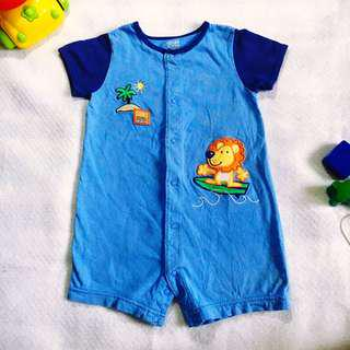 Baby Boy Blue Summer One-piece (Carter's 18M on tag)