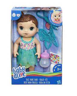 BNIB Baby Alive Face Paint Fairy
