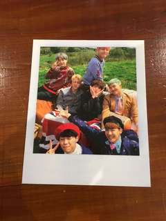 BTS YOUNG FOREVER Group Photocard